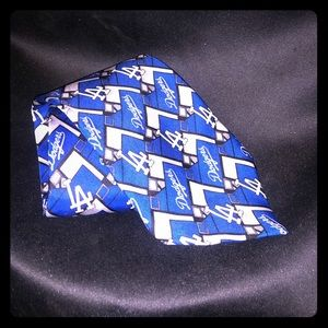 {Los Angeles Dodgers} Dodgers Baseball Neck Tie